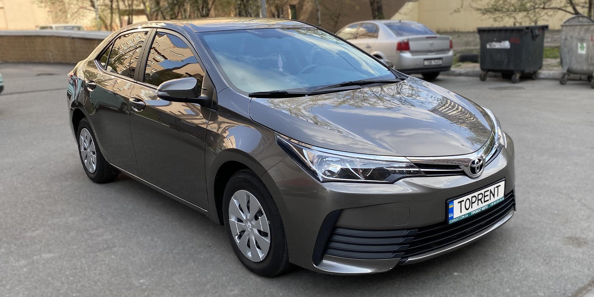 Прокат и аренда авто Toyota Corolla 2018 - фото 2 | TOPrent.ua