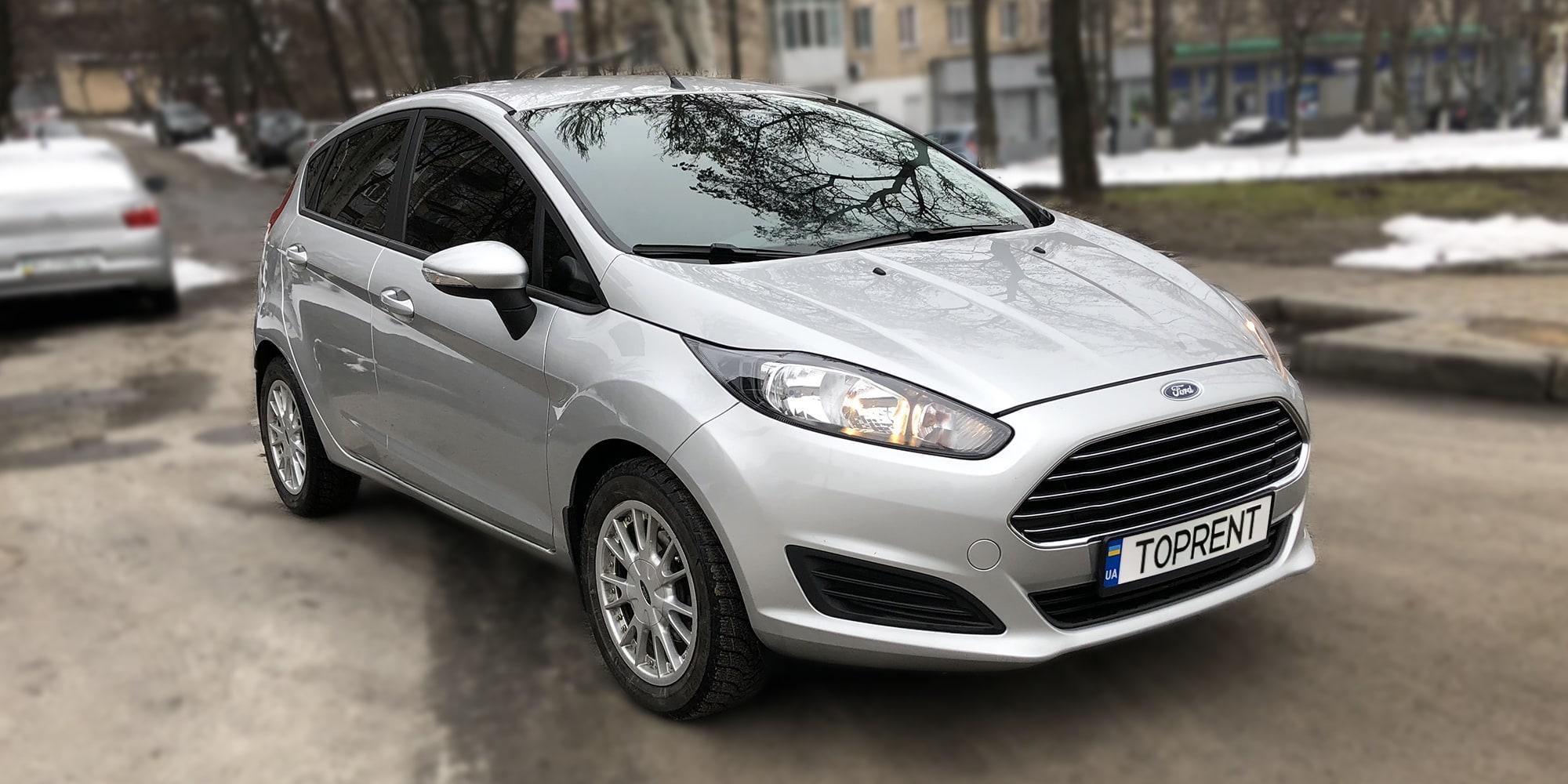 Прокат и аренда авто Ford Fiesta - фото 2 | TOPrent.ua