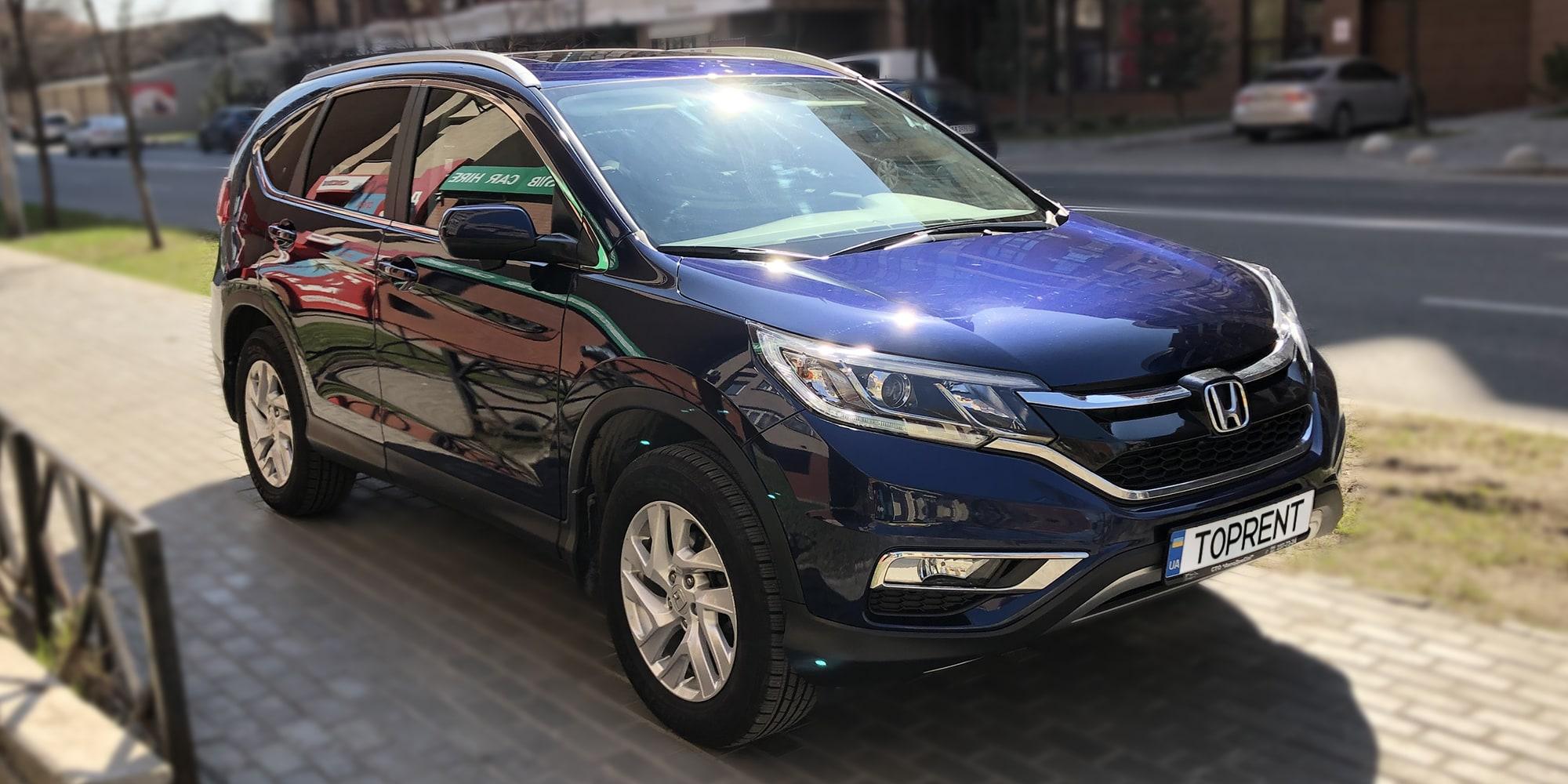 Прокат и аренда авто Honda CR-V 2016 - фото 2 | TOPrent.ua
