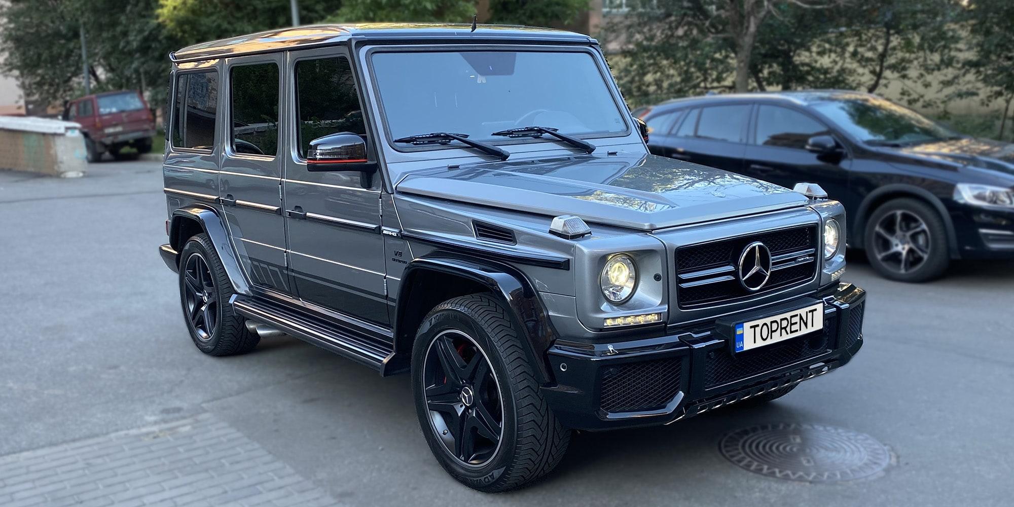 Прокат и аренда авто Mercedes-Benz G-63 AMG - фото 2 | TOPrent.ua