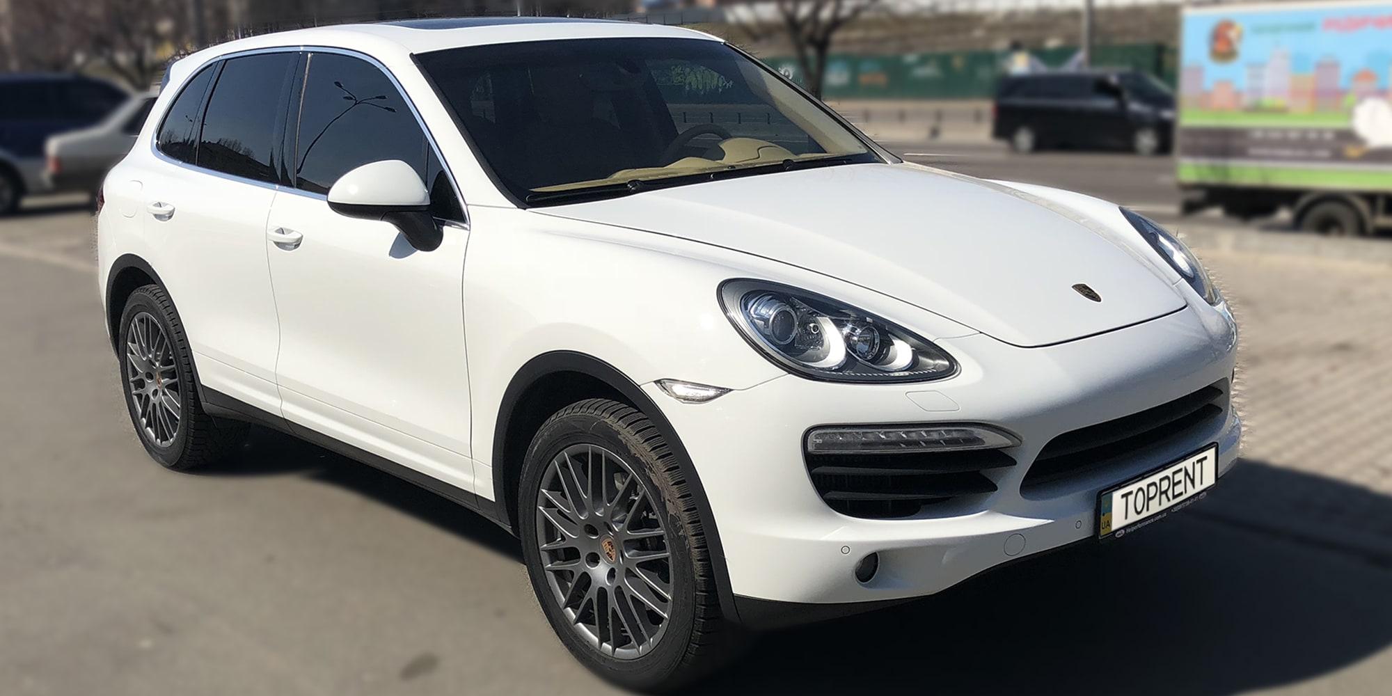 Прокат и аренда авто Porsche Cayenne 2015 - фото 2 | TOPrent.ua