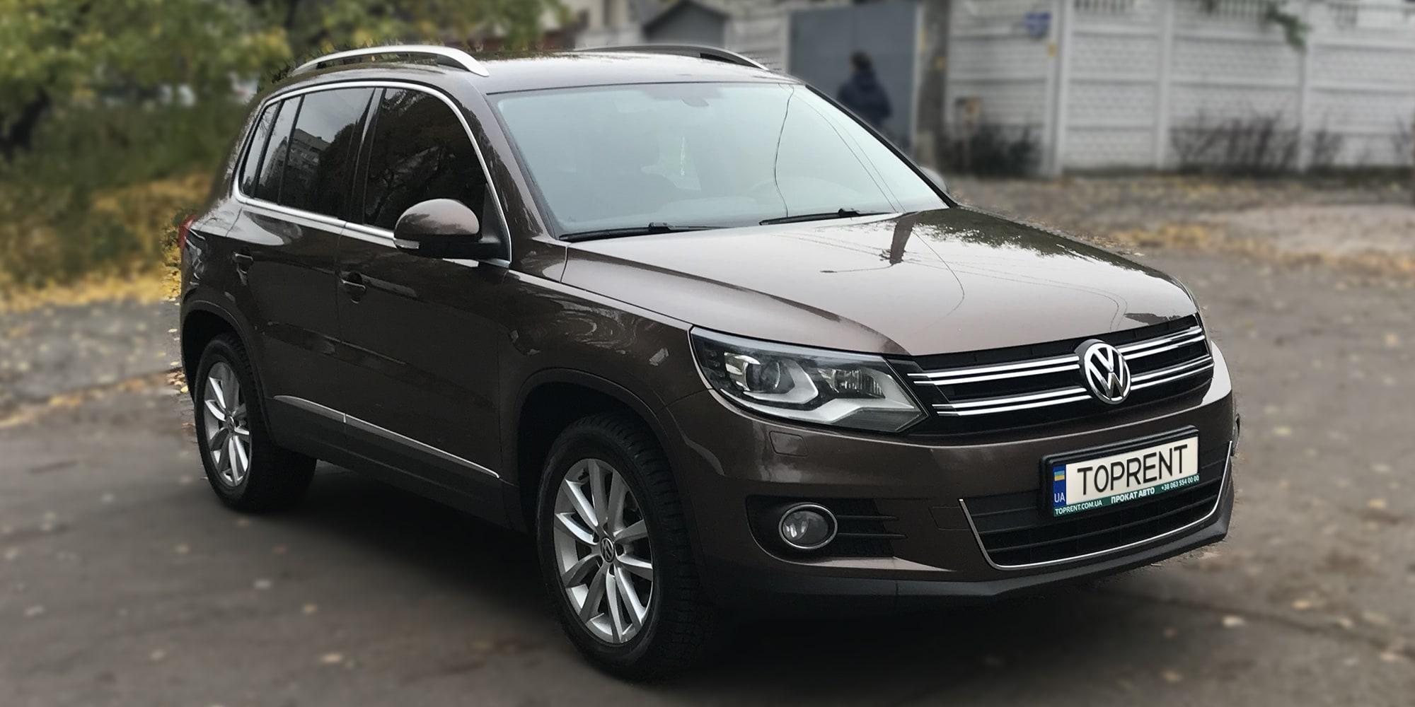 Прокат и аренда авто Volkswagen Tiguan - фото 2 | TOPrent.ua