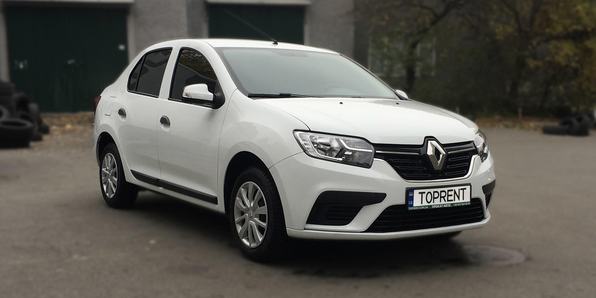 Прокат и аренда авто Renault Logan 2016 - фото 2 | TOPrent.ua