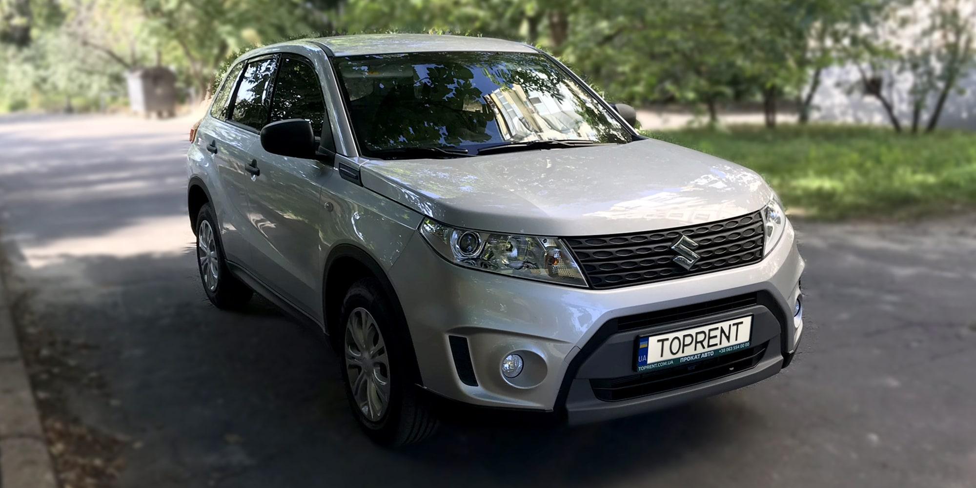 Прокат и аренда авто Suzuki Vitara 2018 - фото 2 | TOPrent.ua