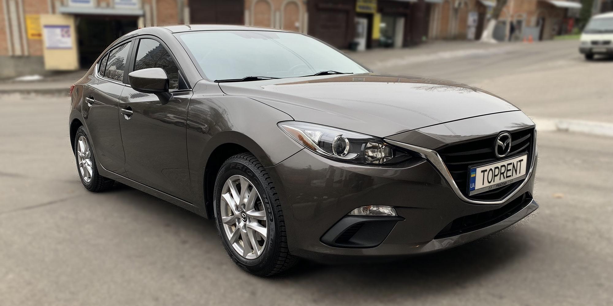 Прокат и аренда авто Mazda 3 - фото 2 | TOPrent.ua