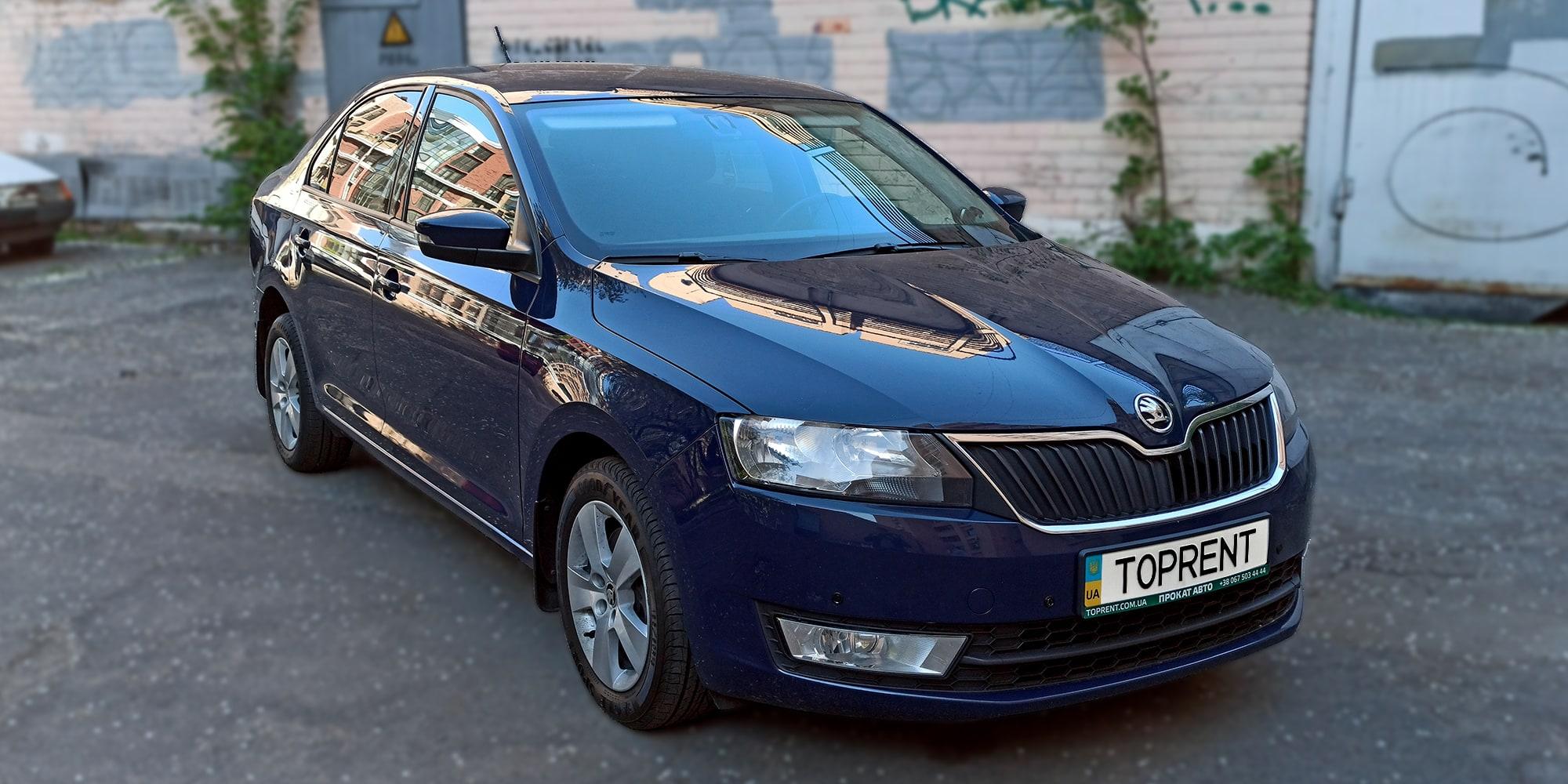 Прокат и аренда авто Skoda Rapid - фото 2 | TOPrent.ua