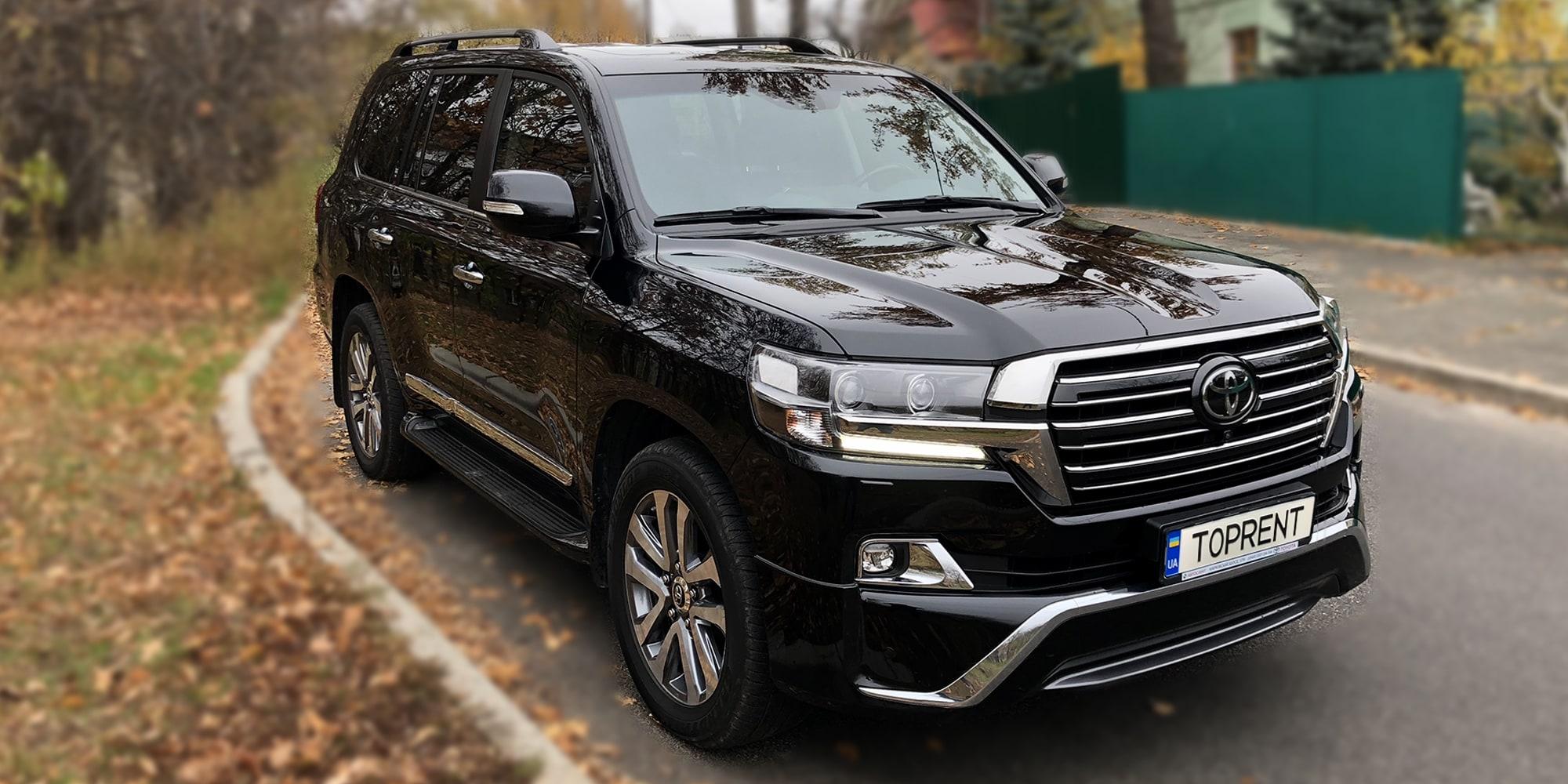 Прокат и аренда авто Toyota Land Cruiser 200 - фото 2 | TOPrent.ua