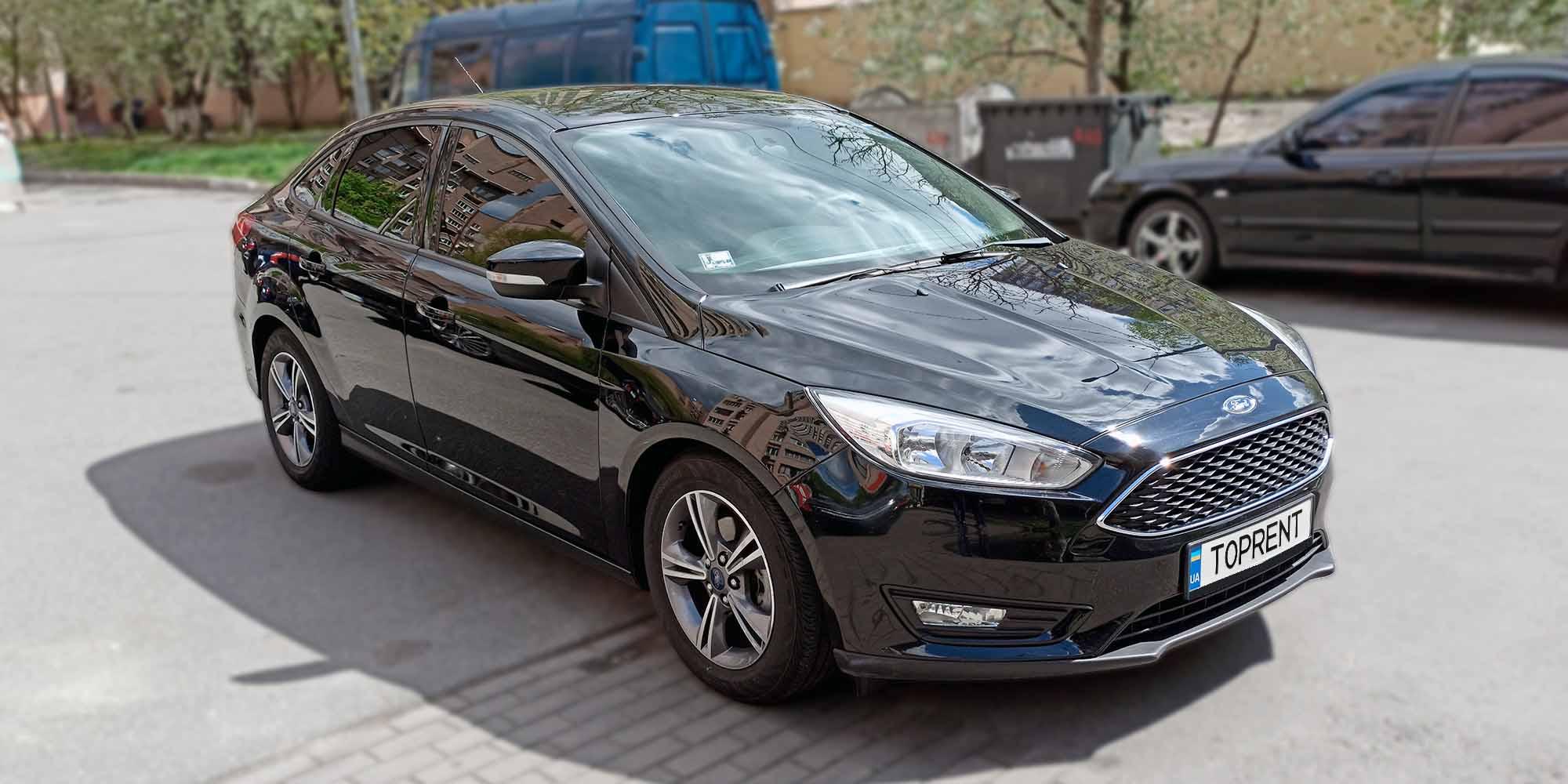 Прокат и аренда авто Ford Focus ecoboost - фото 2 | TOPrent.ua