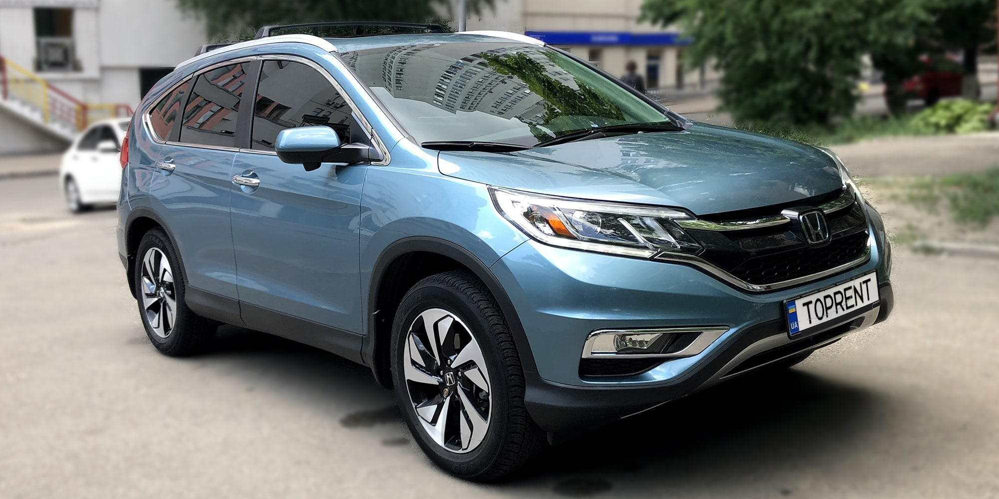 Прокат и аренда авто Honda CR-V Touring - фото 2 | TOPrent.ua