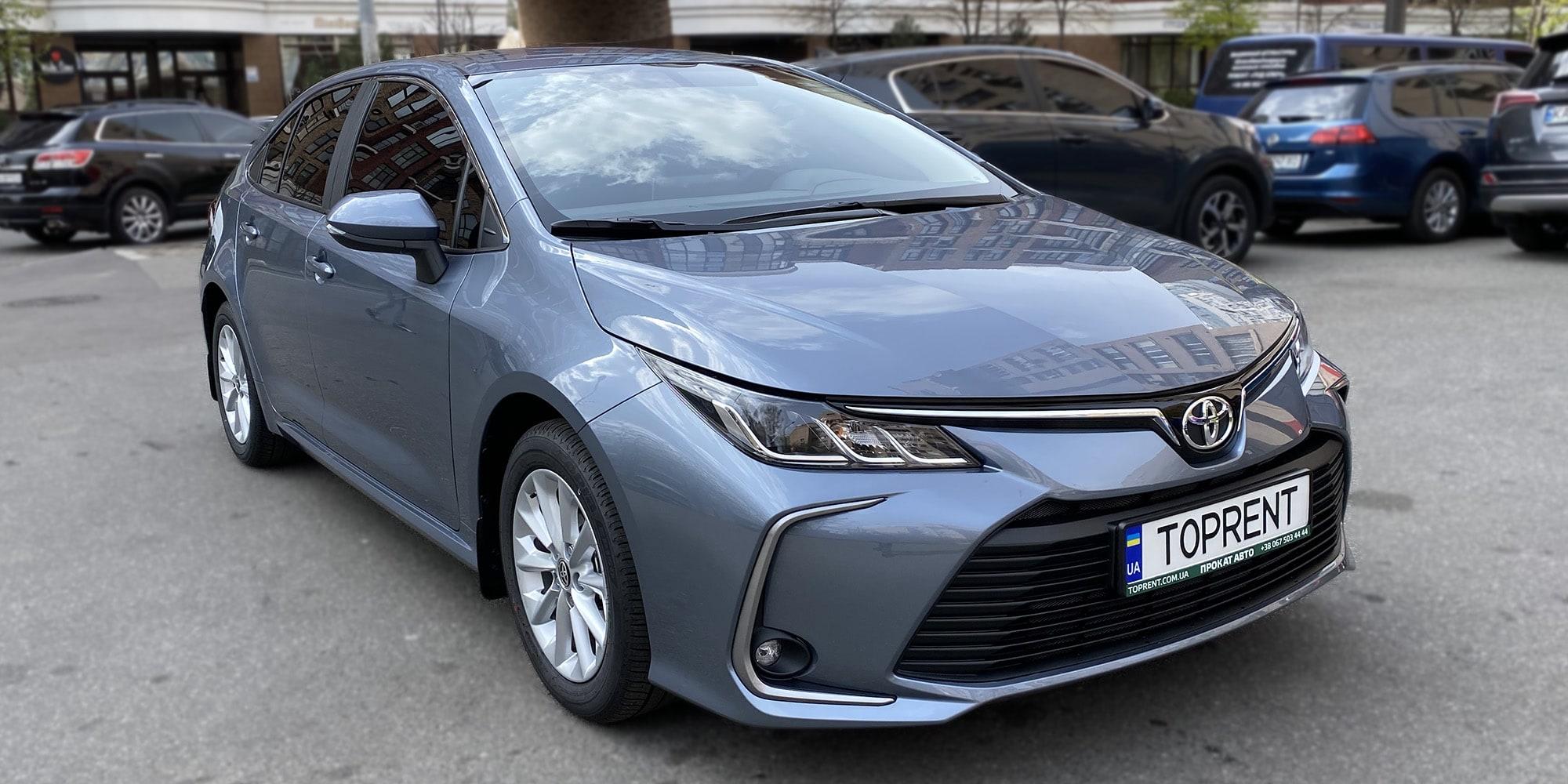 Прокат и аренда авто Toyota Corolla 2020 - фото 2 | TOPrent.ua