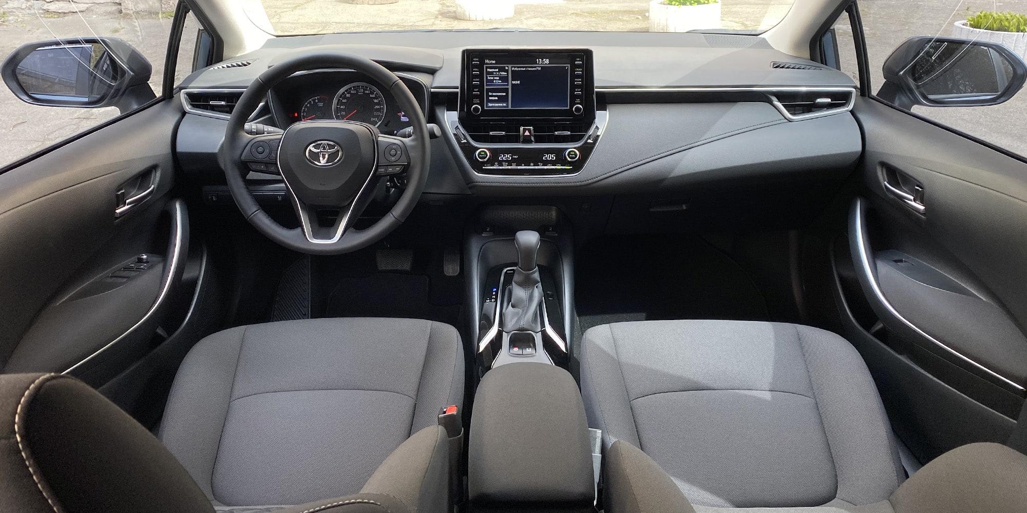 Rent a car Toyota Corolla 2020 - photo 8 | TOPrent.ua