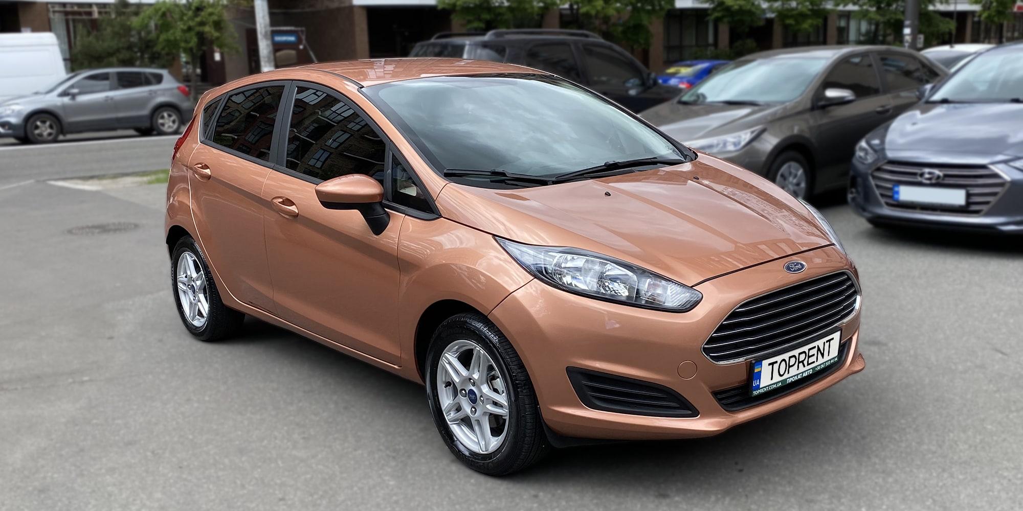 Прокат и аренда авто Ford Fiesta hatchback 2017 - фото 2 | TOPrent.ua