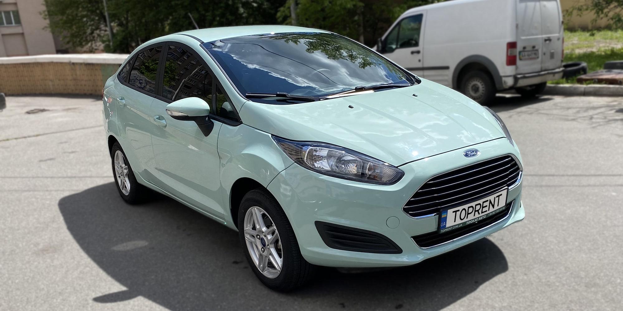 Прокат и аренда авто Ford Fiesta sedan climate - фото 2 | TOPrent.ua