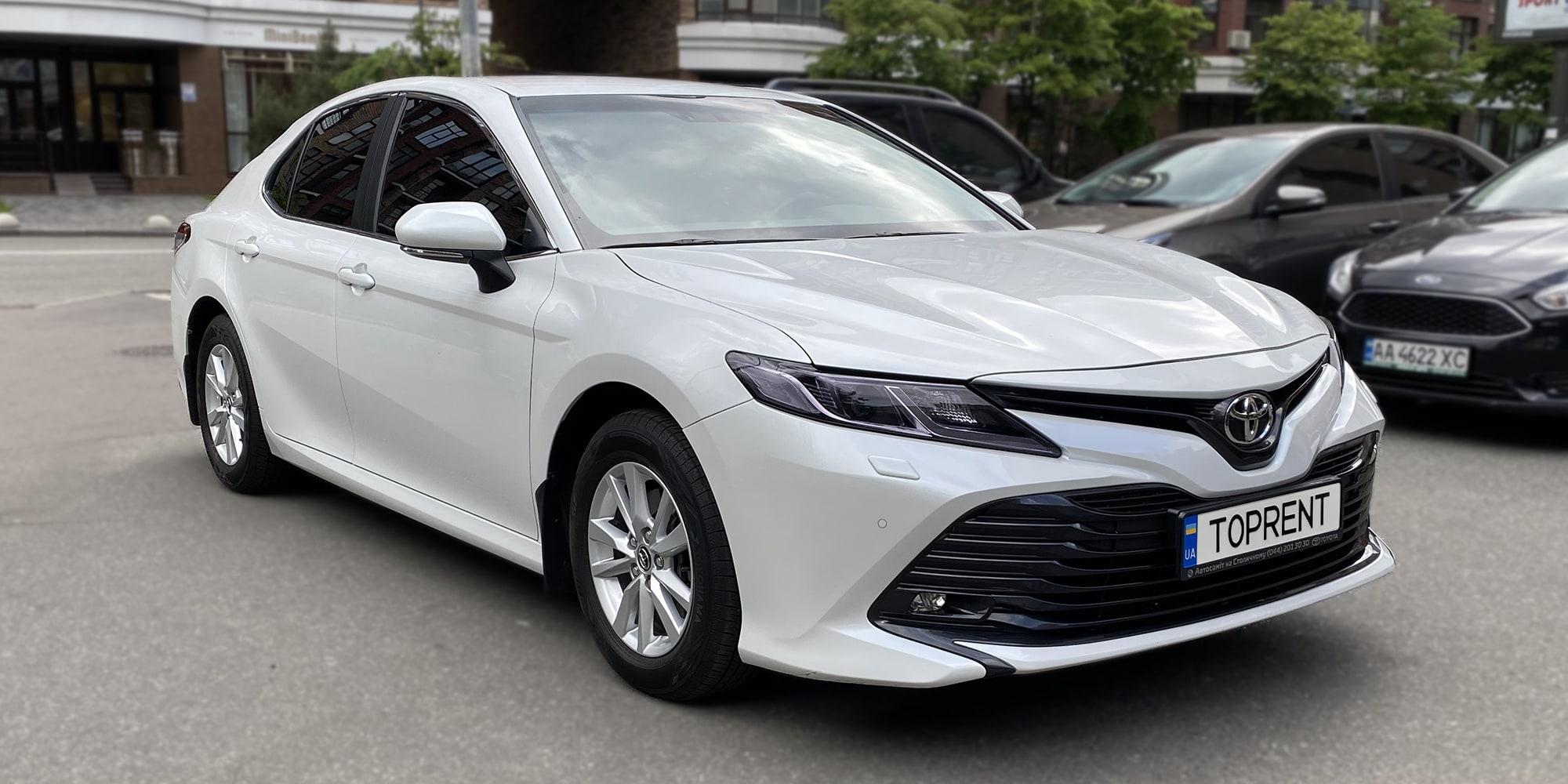 Прокат и аренда авто Toyota Camry xv70 lpg - фото 2 | TOPrent.ua