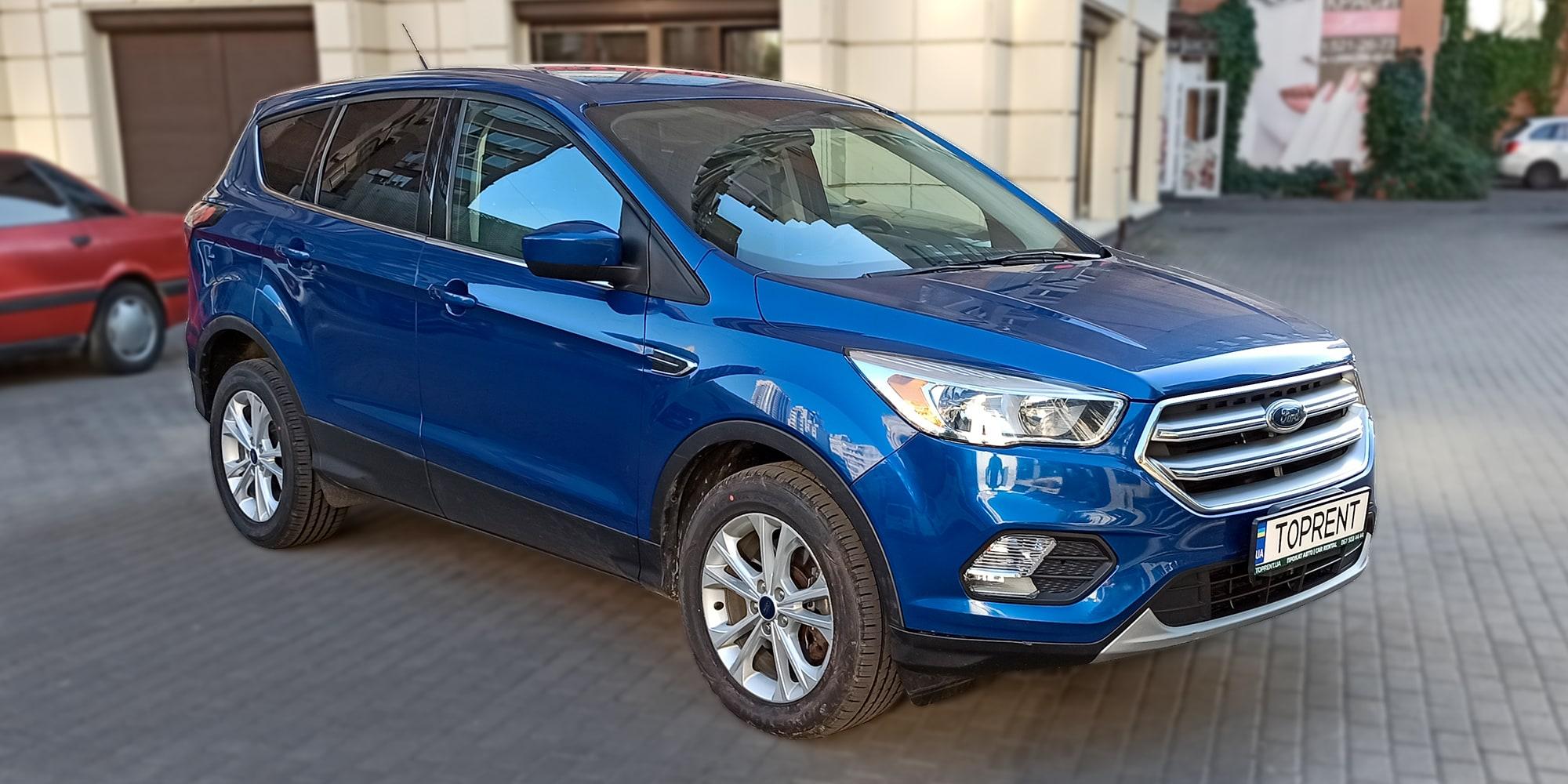 Прокат и аренда авто Ford Escape ( Kuga) 4х4 - фото 2 | TOPrent.ua