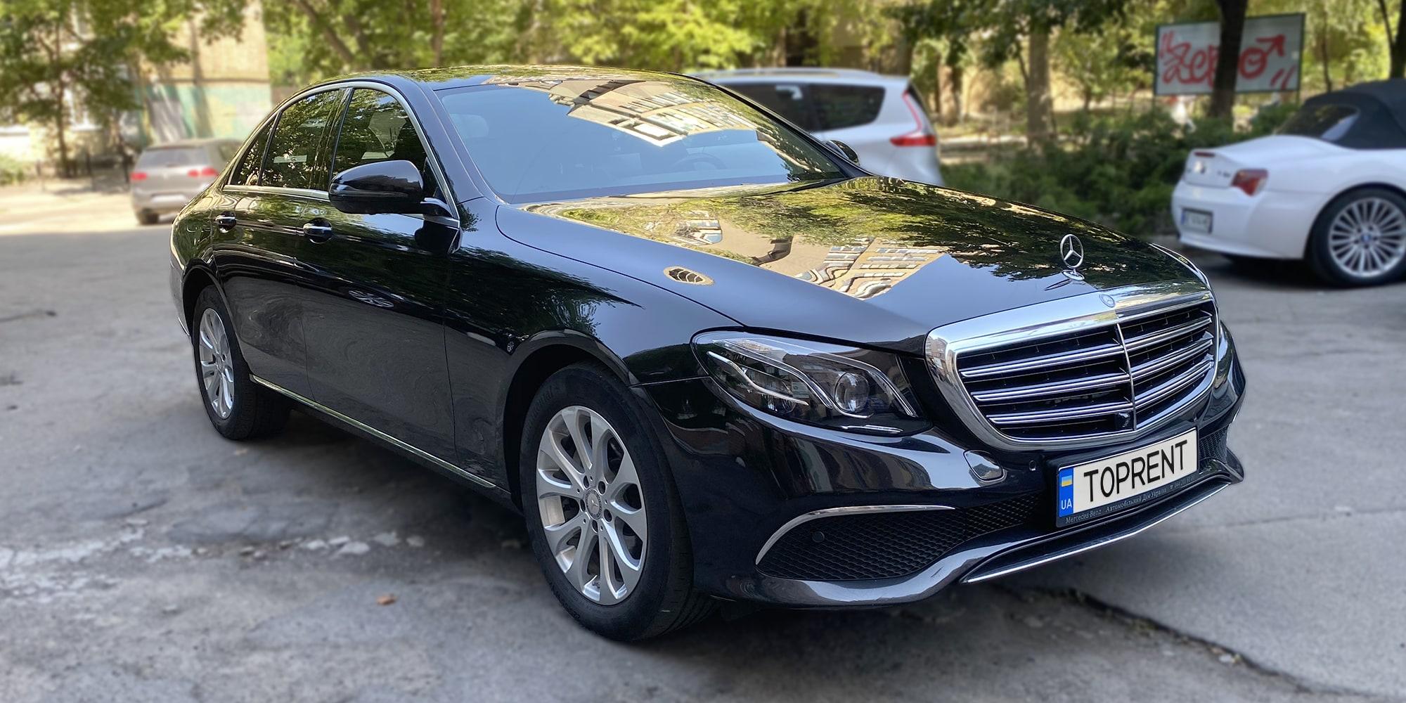 Прокат и аренда авто Mercedes-Benz E-Class w213 - фото 2 | TOPrent.ua