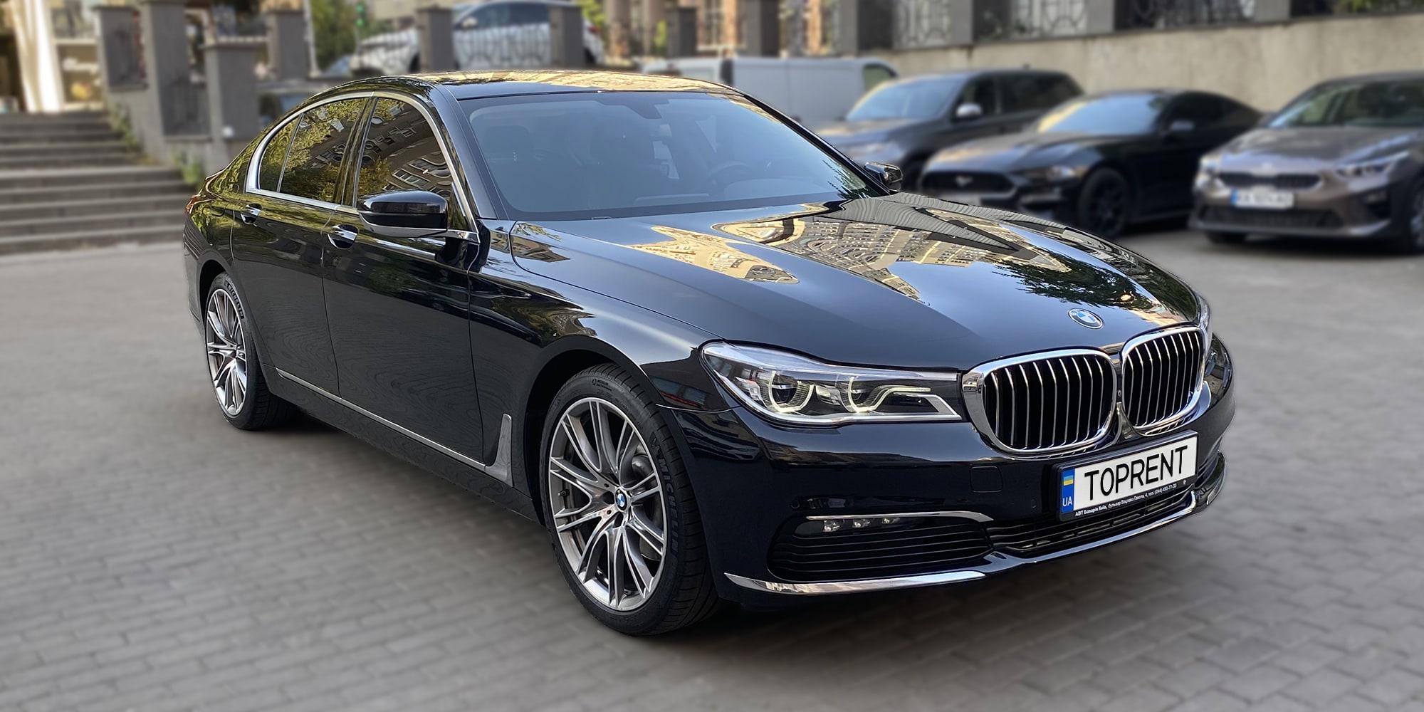 Прокат и аренда авто BMW 730i - фото 2 | TOPrent.ua
