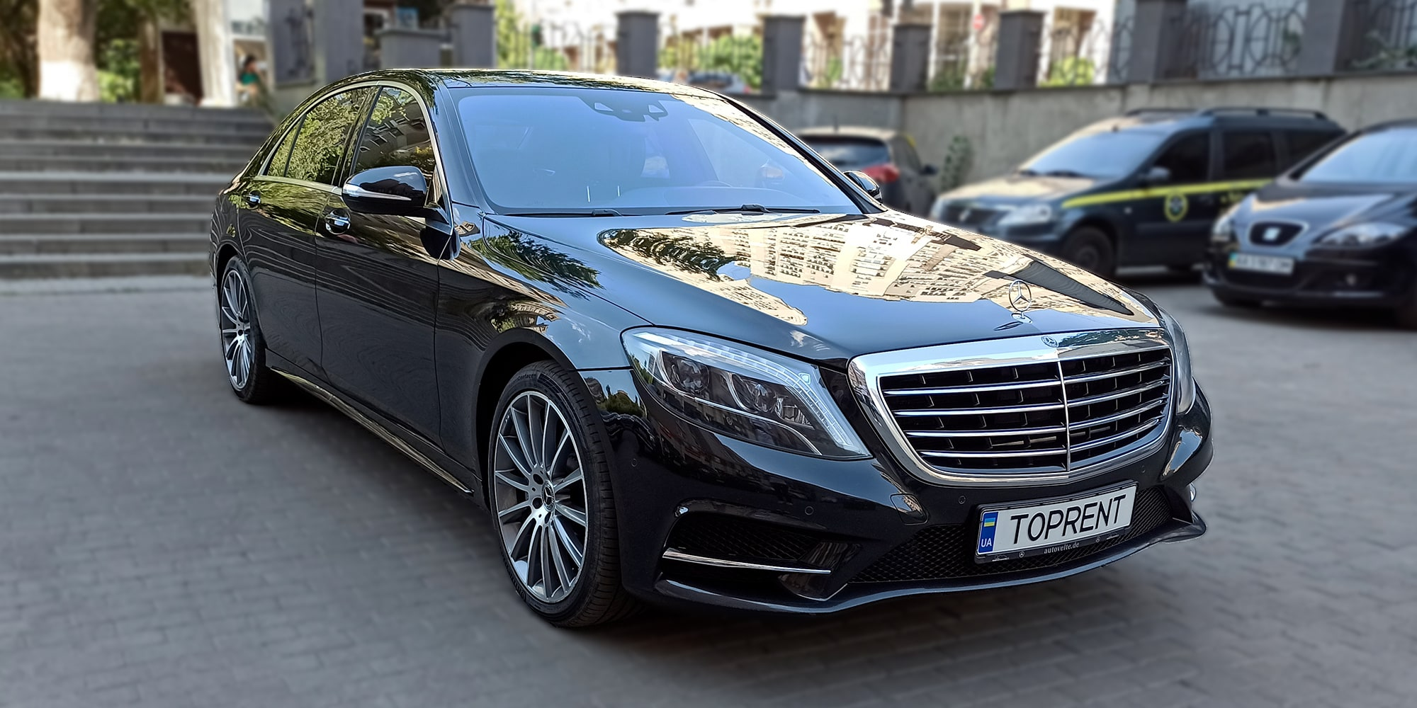 Прокат и аренда авто Mercedes-Benz S550 4matic (w222) - фото 2 | TOPrent.ua