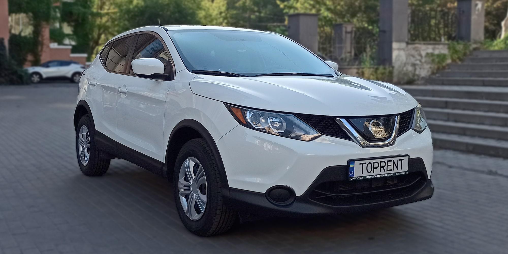Прокат и аренда авто Nissan Rogue Sport (Qashqai) 2018 - фото 2 | TOPrent.ua