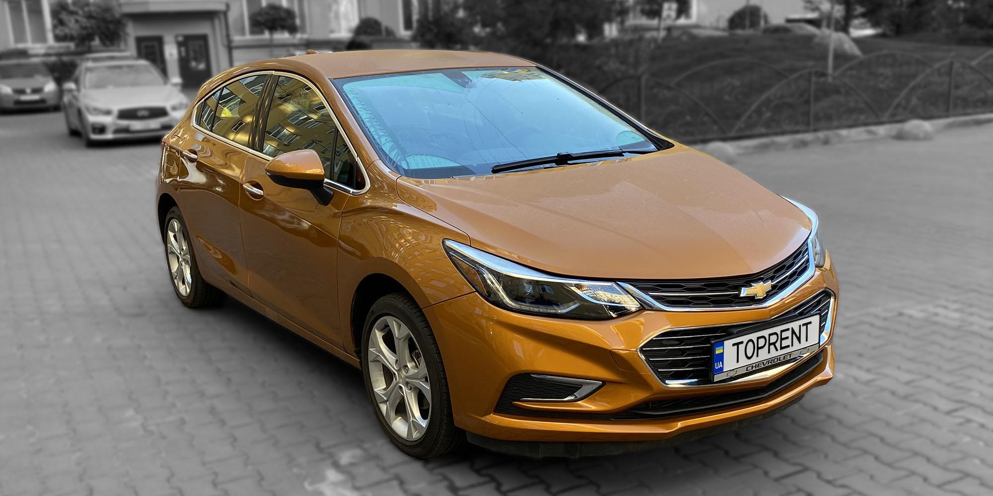 Прокат и аренда авто Chevrolet Cruze hatchback - фото 2 | TOPrent.ua