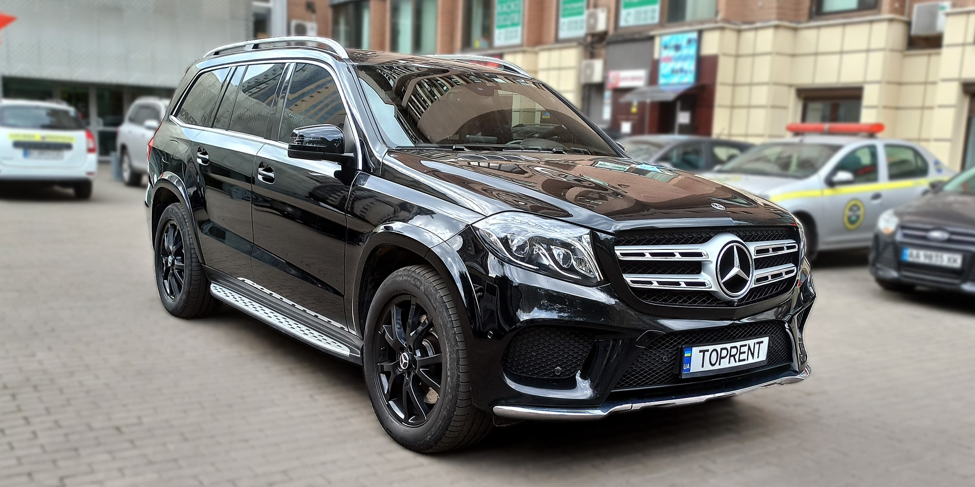 Mercedes Benz GLS 350 diesel - TopRent.UA - 1