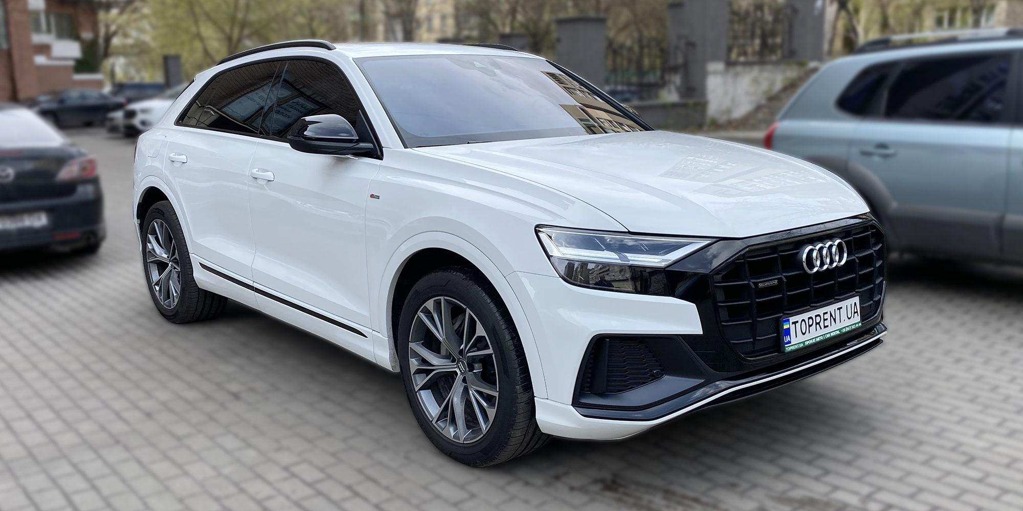 Audi-q8-quattro-TopRent.UA - 1