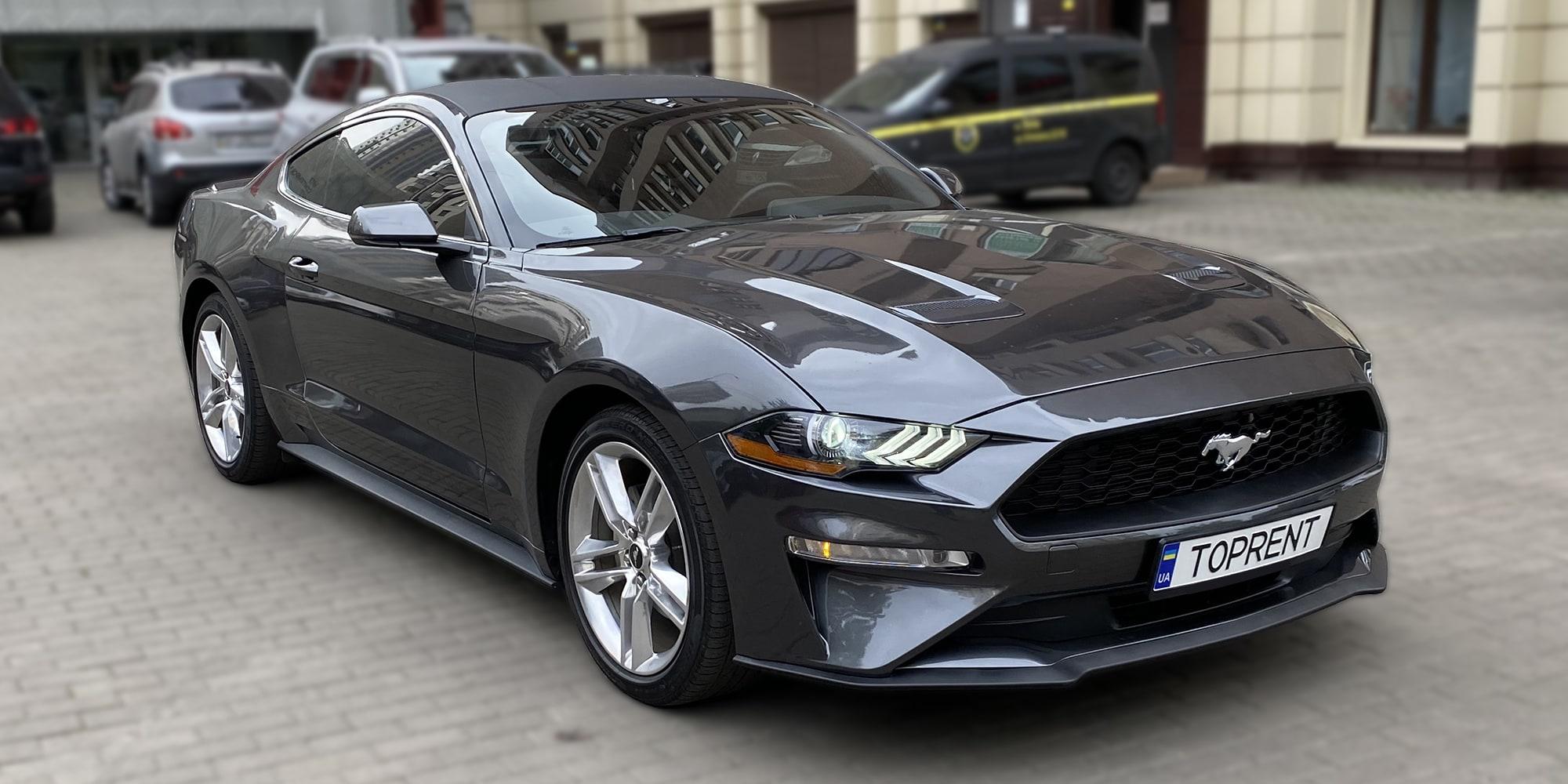 Прокат и аренда авто Ford Mustang 2018 - фото 2 | TOPrent.ua