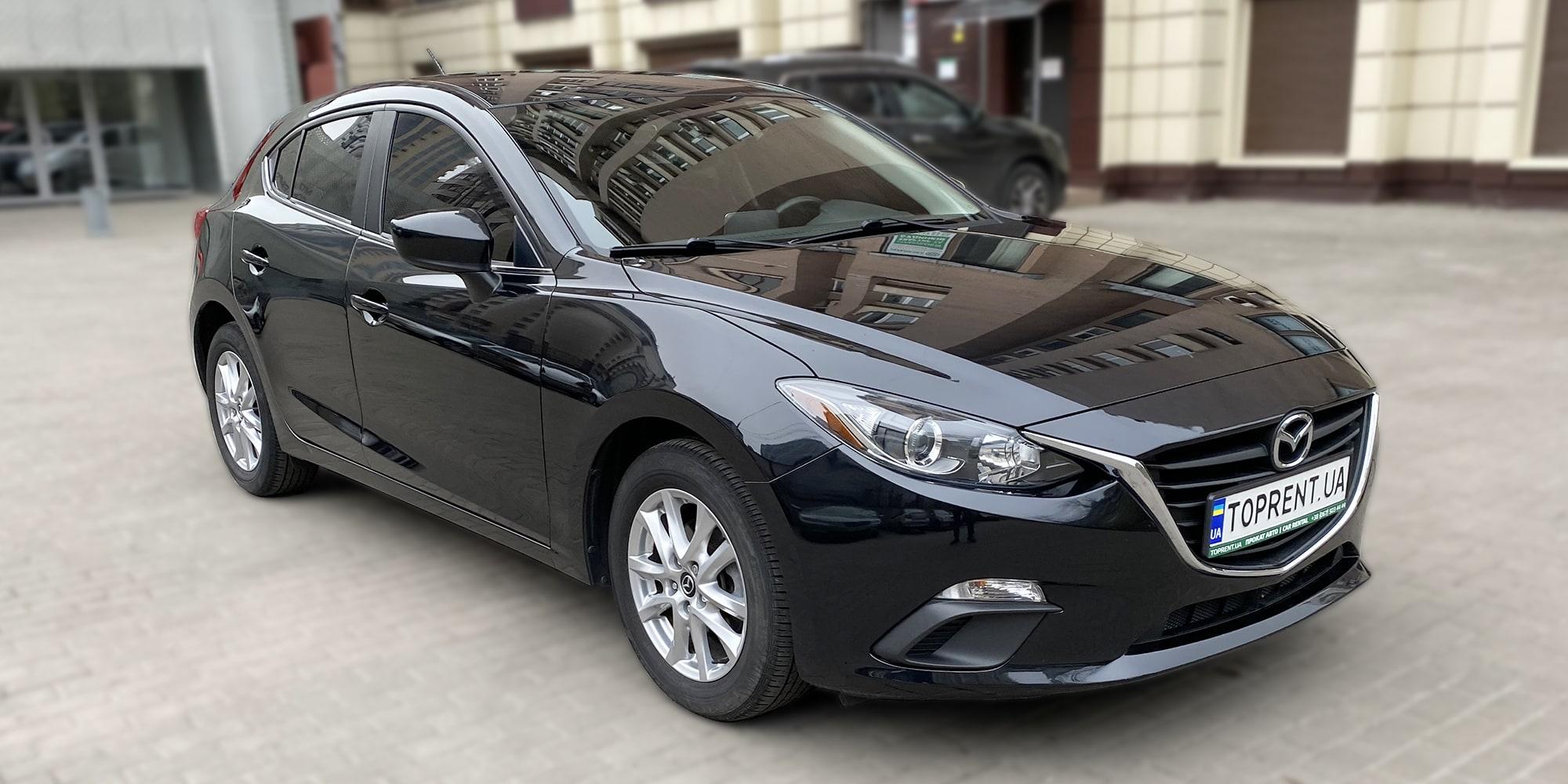 Mazda 3 hatchback - TopRent.UA - 1