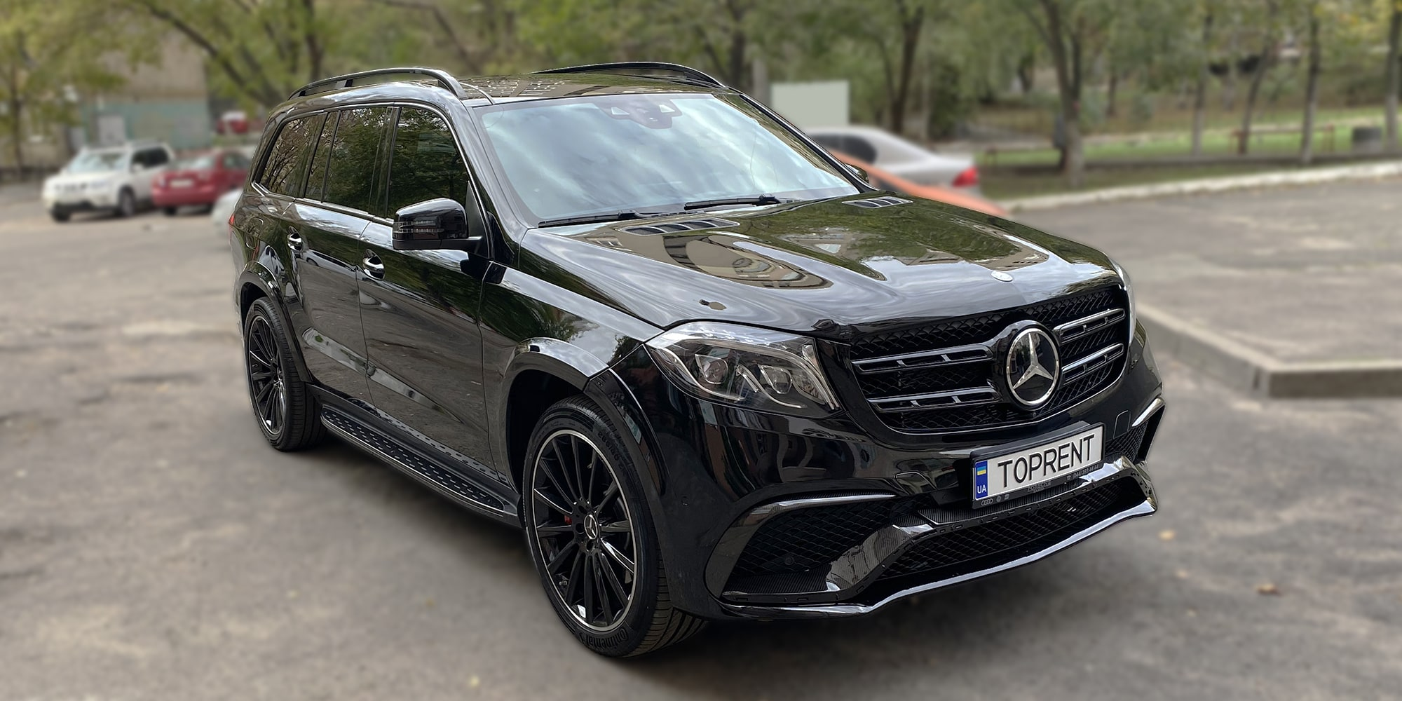 Прокат и аренда авто Mercedes-Benz GLS63 AMG BiTurbo - фото 2 | TOPrent.ua