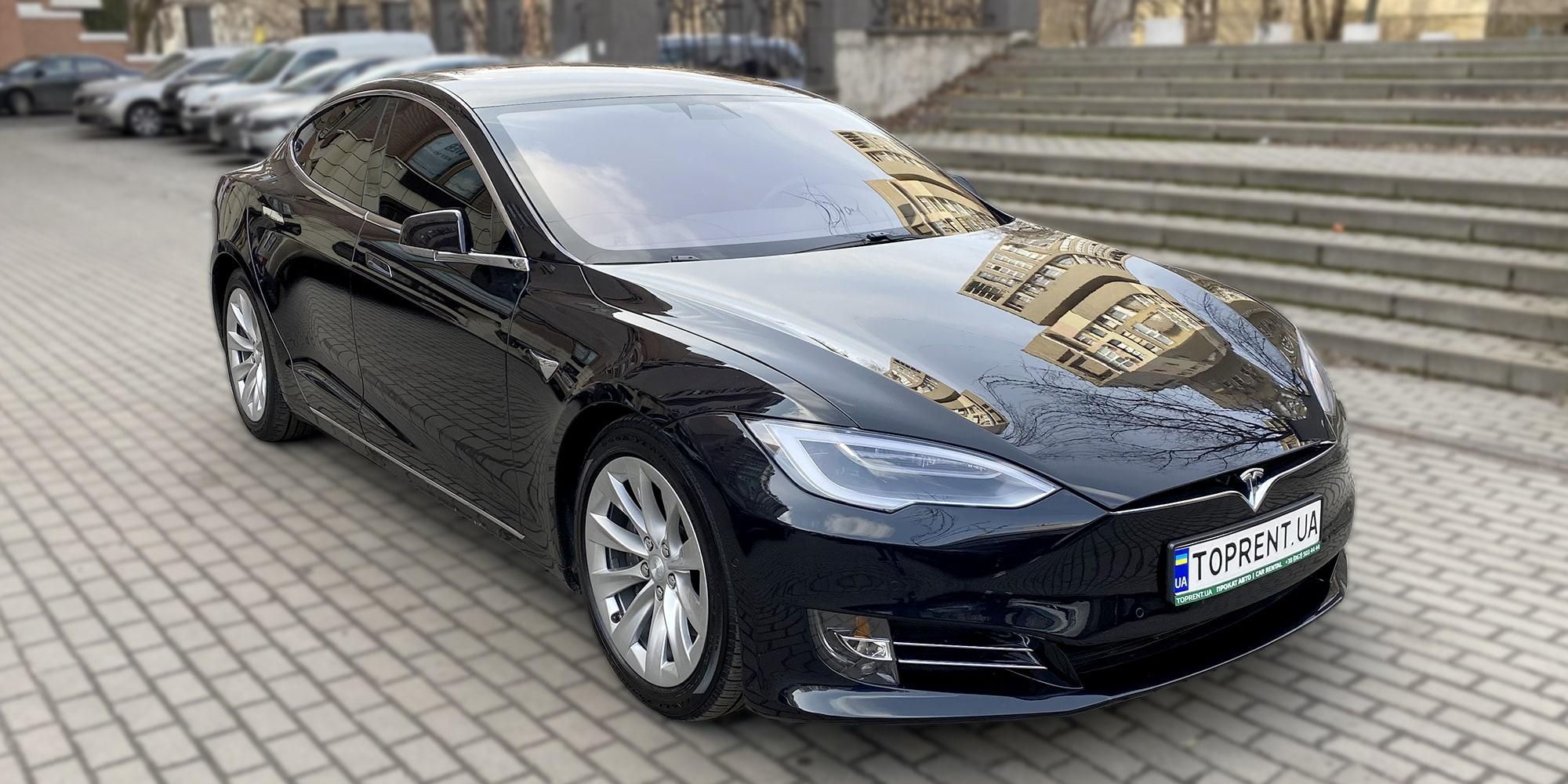 Прокат и аренда авто Tesla model S 75d - фото 2 | TOPrent.ua