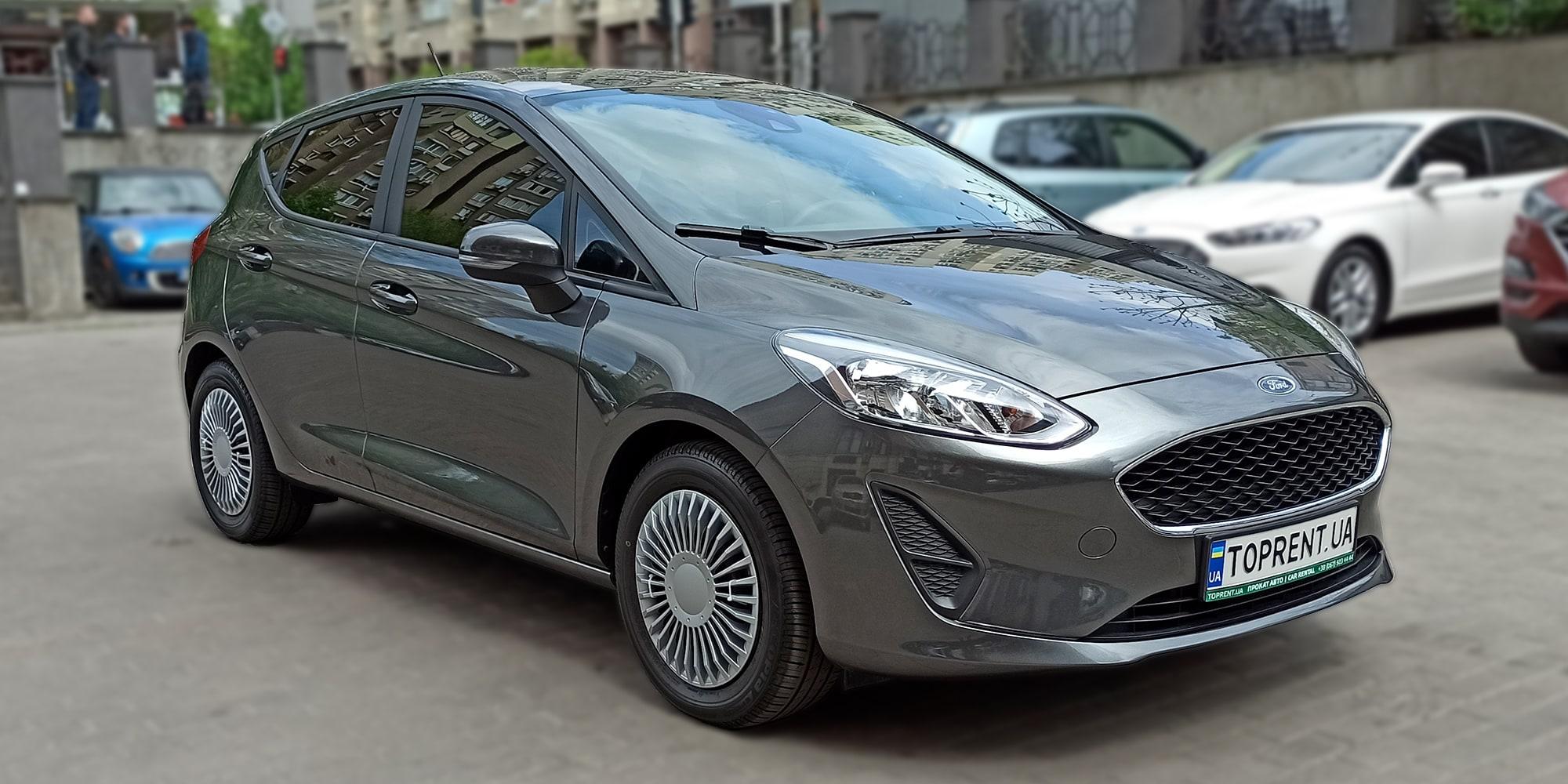 Прокат и аренда авто Ford Fiesta new - фото 2 | TOPrent.ua