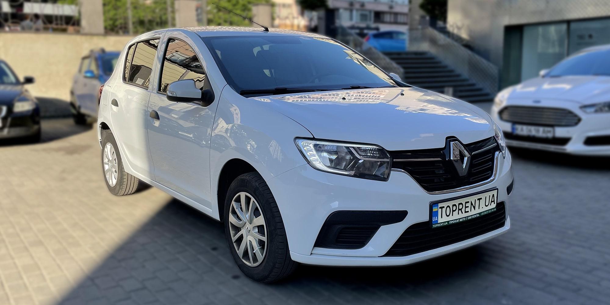 Прокат и аренда авто Renault Sandero diesel - фото 2 | TOPrent.ua