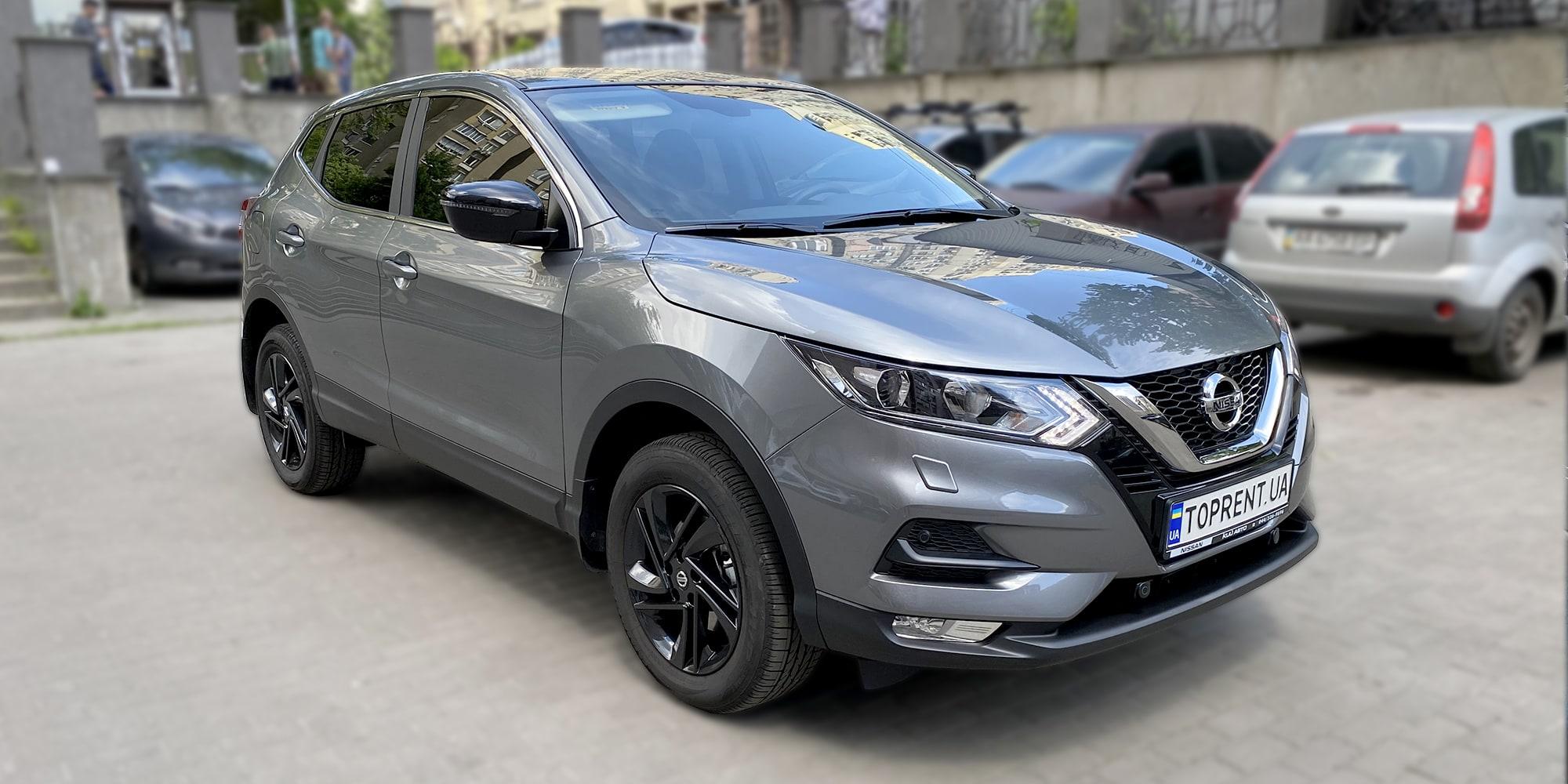 Прокат и аренда авто Nissan Qashqai 4×4 2021 - фото 2 | TOPrent.ua