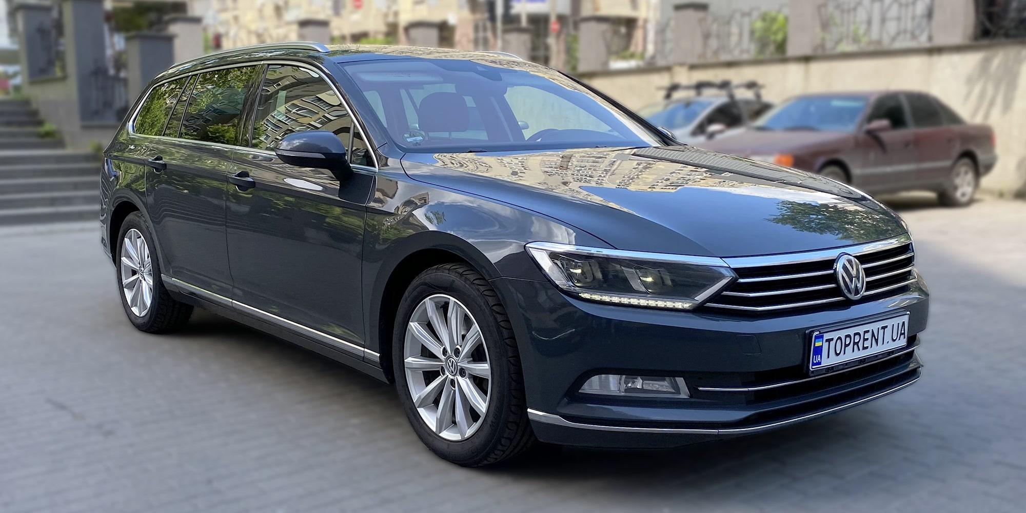 Прокат и аренда авто Volkswagen Passat B8 variant diesel - фото 2 | TOPrent.ua