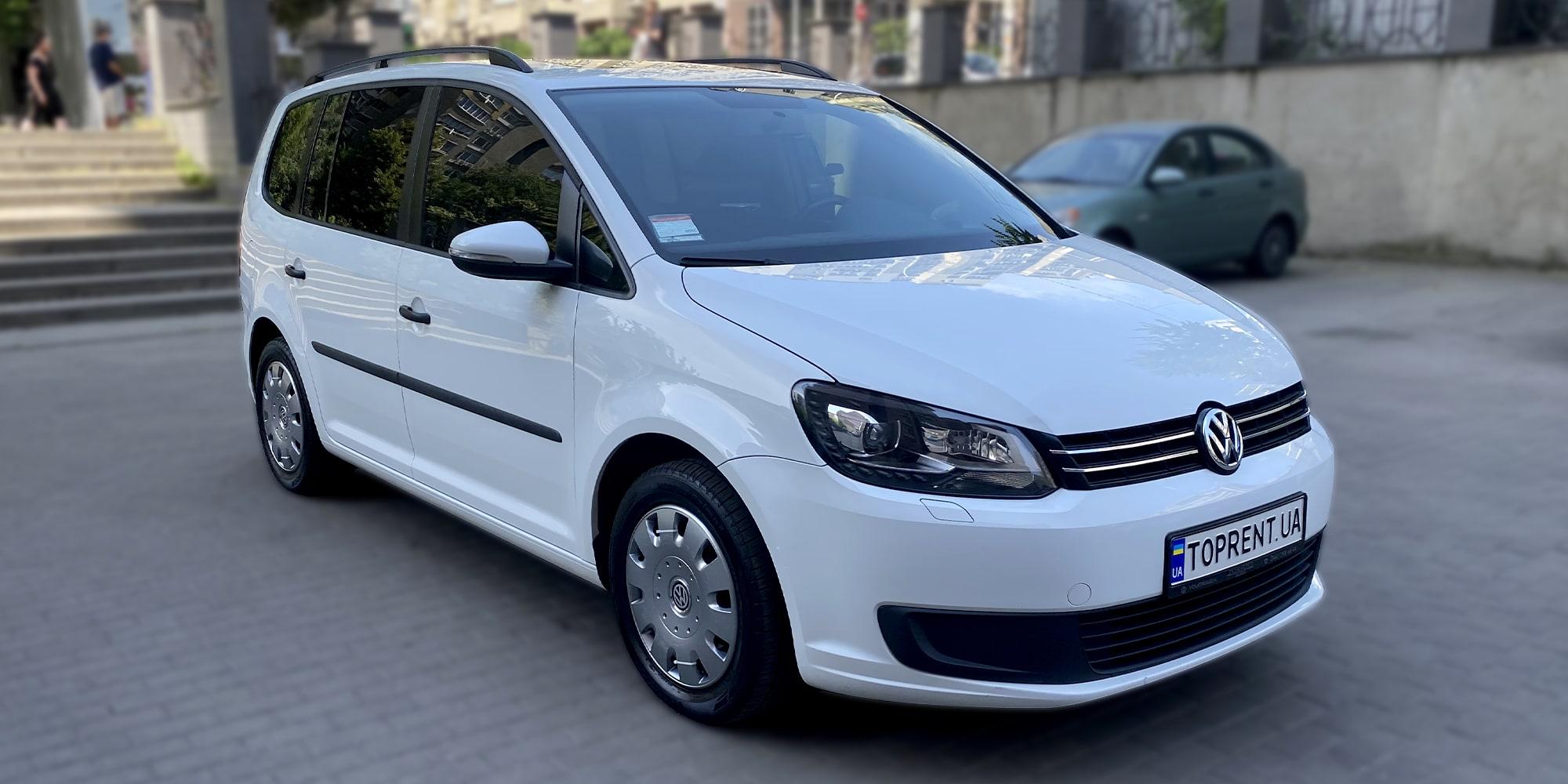 Прокат и аренда авто Volkswagen Touran diesel - фото 2 | TOPrent.ua
